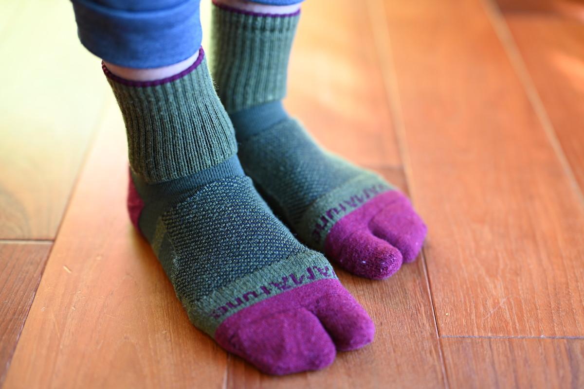 足袋の形状 ソックス