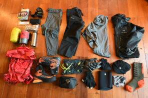 冬山登山の行動着&装備−日帰り登山編