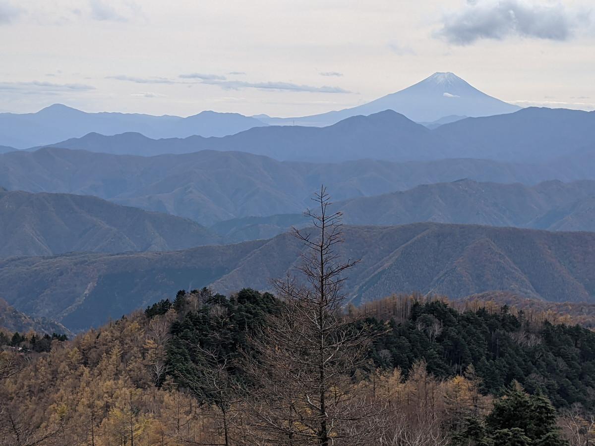 雲取山の登山