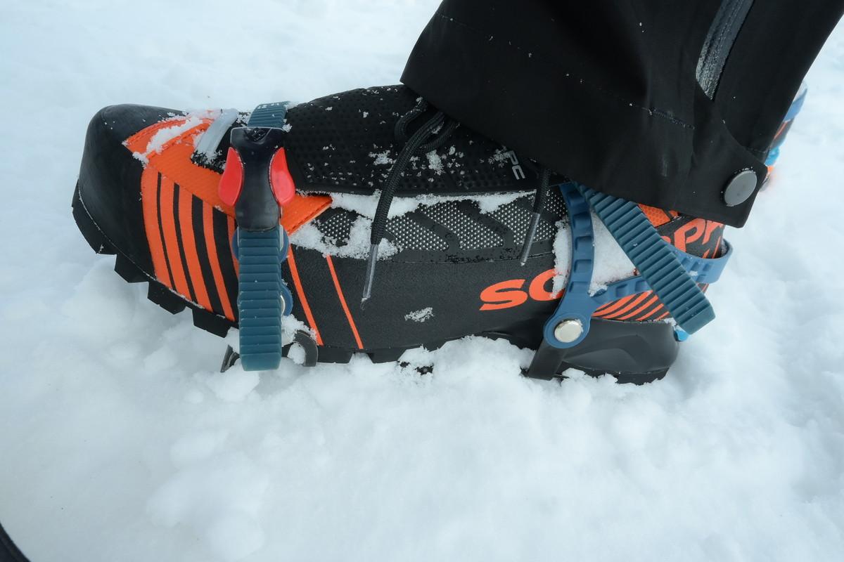リベレTECH OD 冬山登山靴