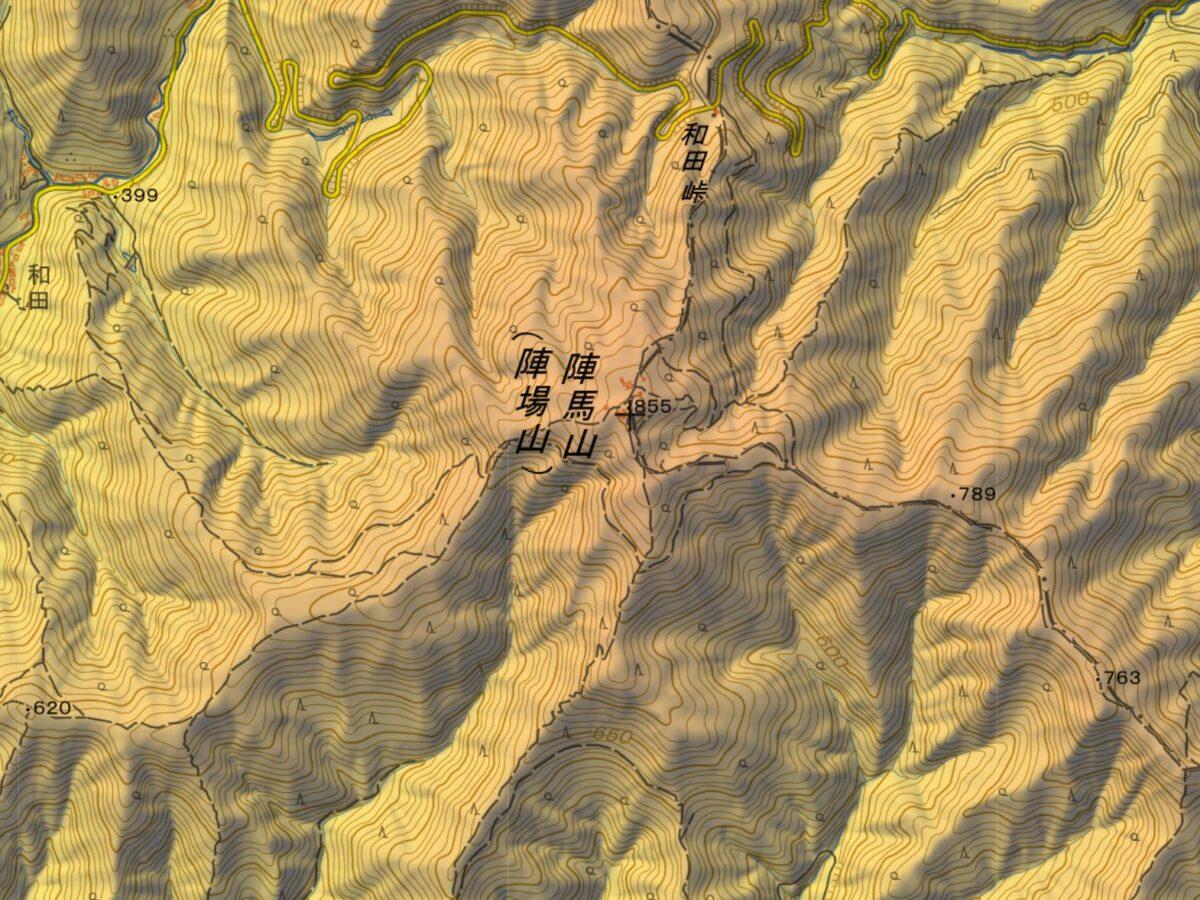 陣馬山の登山ルート・難易度