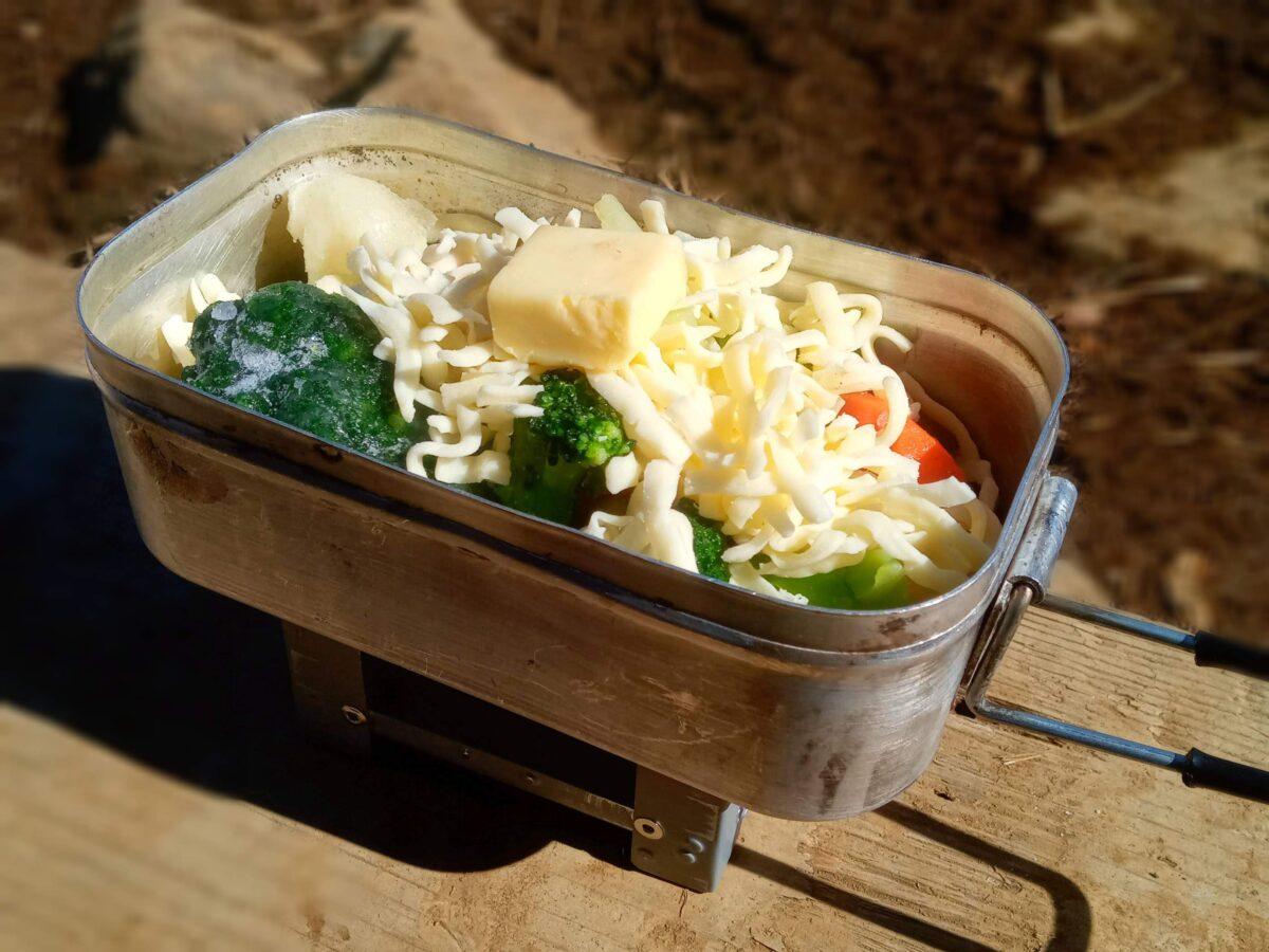 野菜のチーズ蒸し