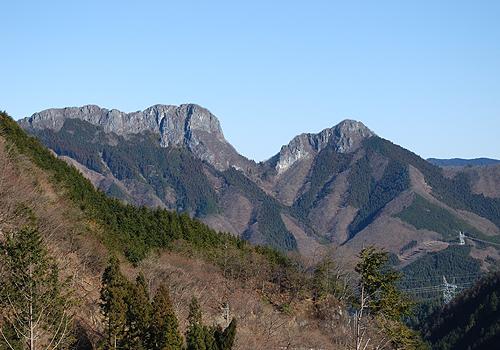 二子山の登山ルート・難易度