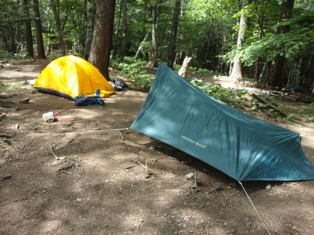 キャンプ指定地(テント場)とは