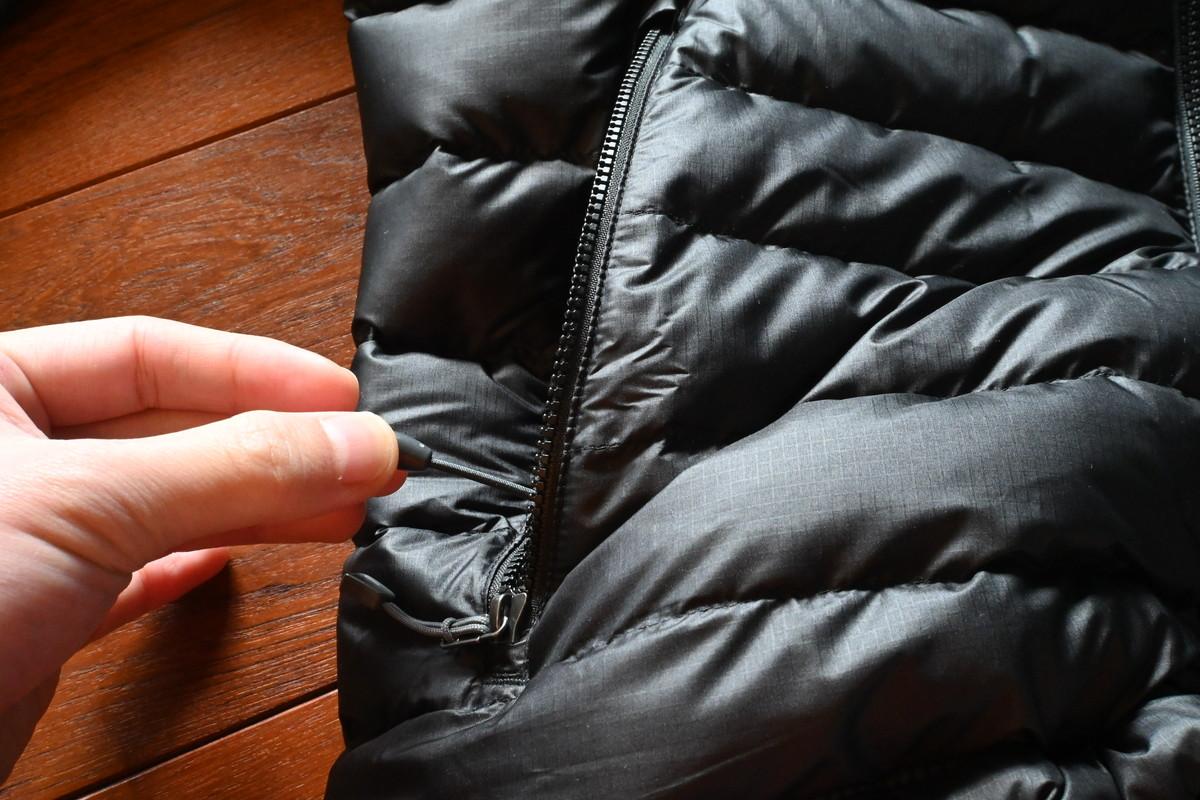 パタゴニア ダウン・セーター ポケット ドローコード