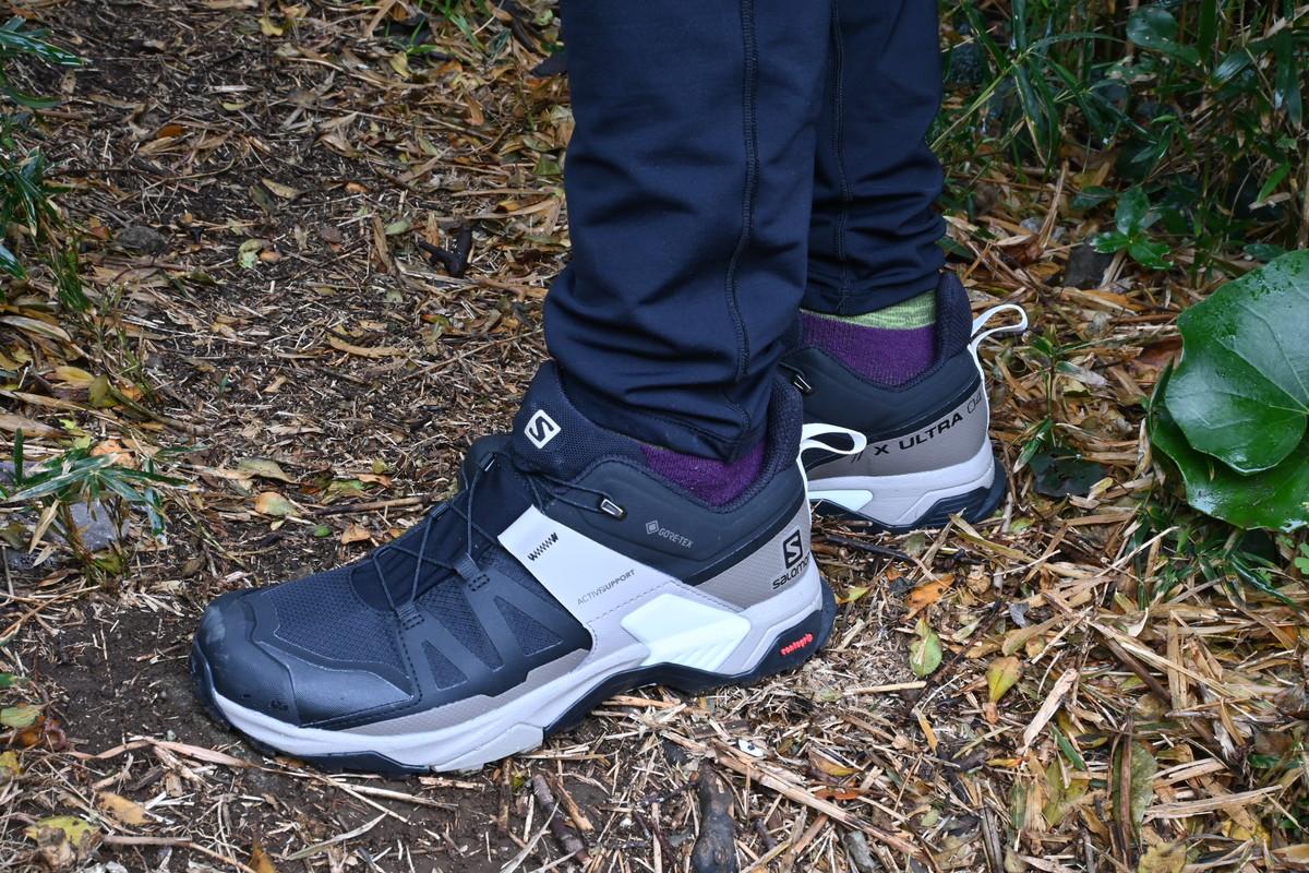 登山靴-サロモン X Ultra 4 ゴアテックスメンブレン