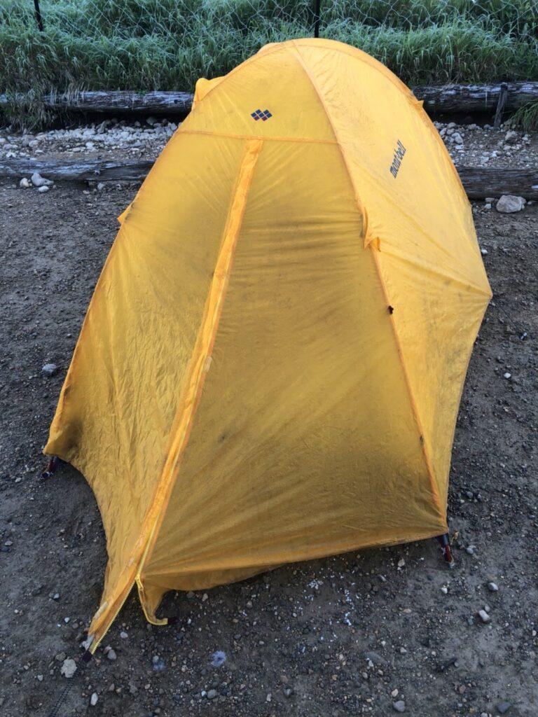 モンベル・ステラリッジテント 登山用テント