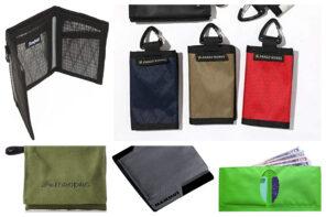 防水財布10選-登山に最適な軽量&コンパクト設計