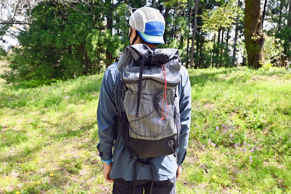 【レビュー】山と道ミニ-軽量かつ背負心地の良さが魅力のULバックパック