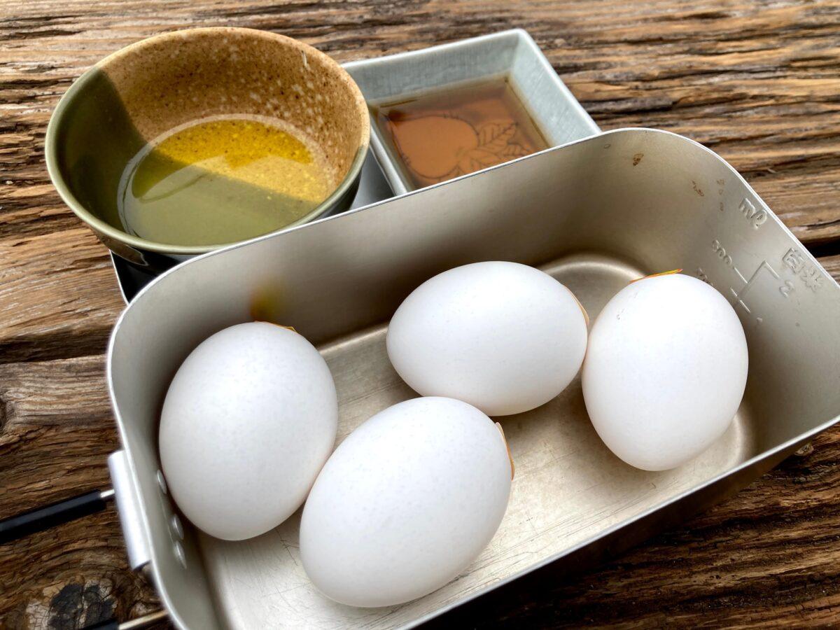 卵焼きの食材