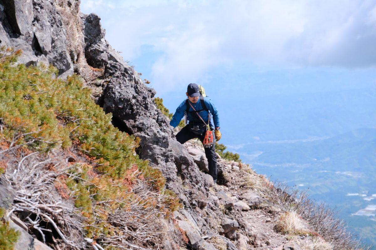 モンベル クラッグステッパー 岩稜も歩ける