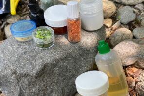 登山用調味料入れ-小さいサイズのPEボトル達