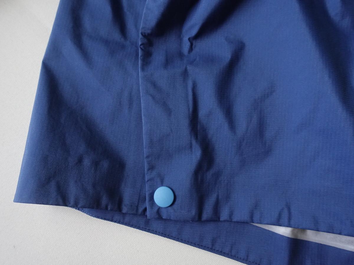 スナップボタン レイヤリング レインジャケット パタゴニア ストーム・レーサー・ジャケット