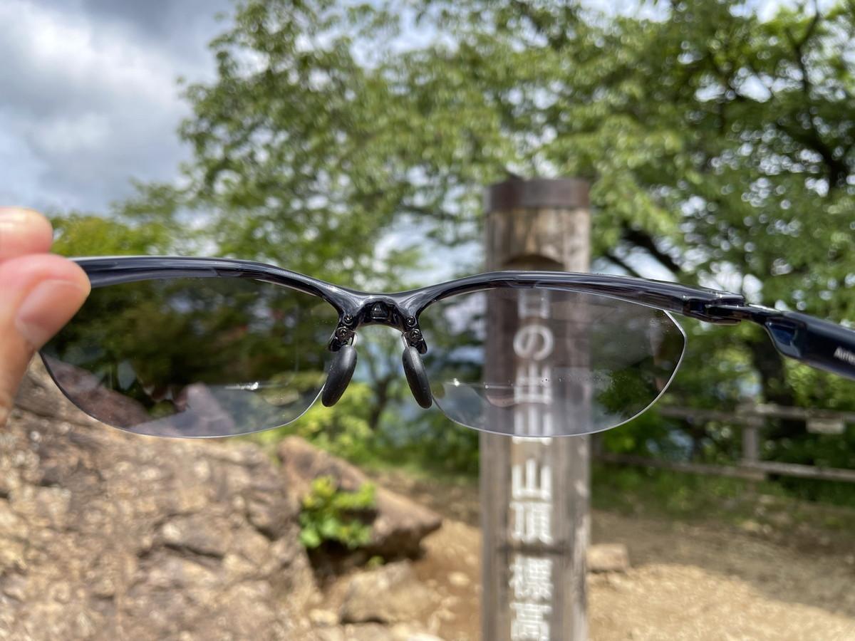 【レビュー】スワンズAirlessCore-登山シーンによってサングラスの色が変化