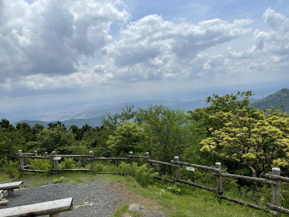 日の出山からの景色 関東近郊おすすめトレイルランニングコース