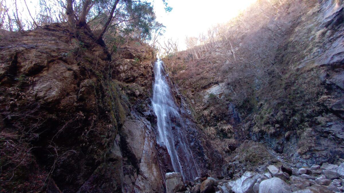 沢登りの魅力 沢の大滝