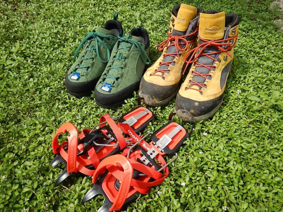 登山靴 おすすめ モンベルの登山靴
