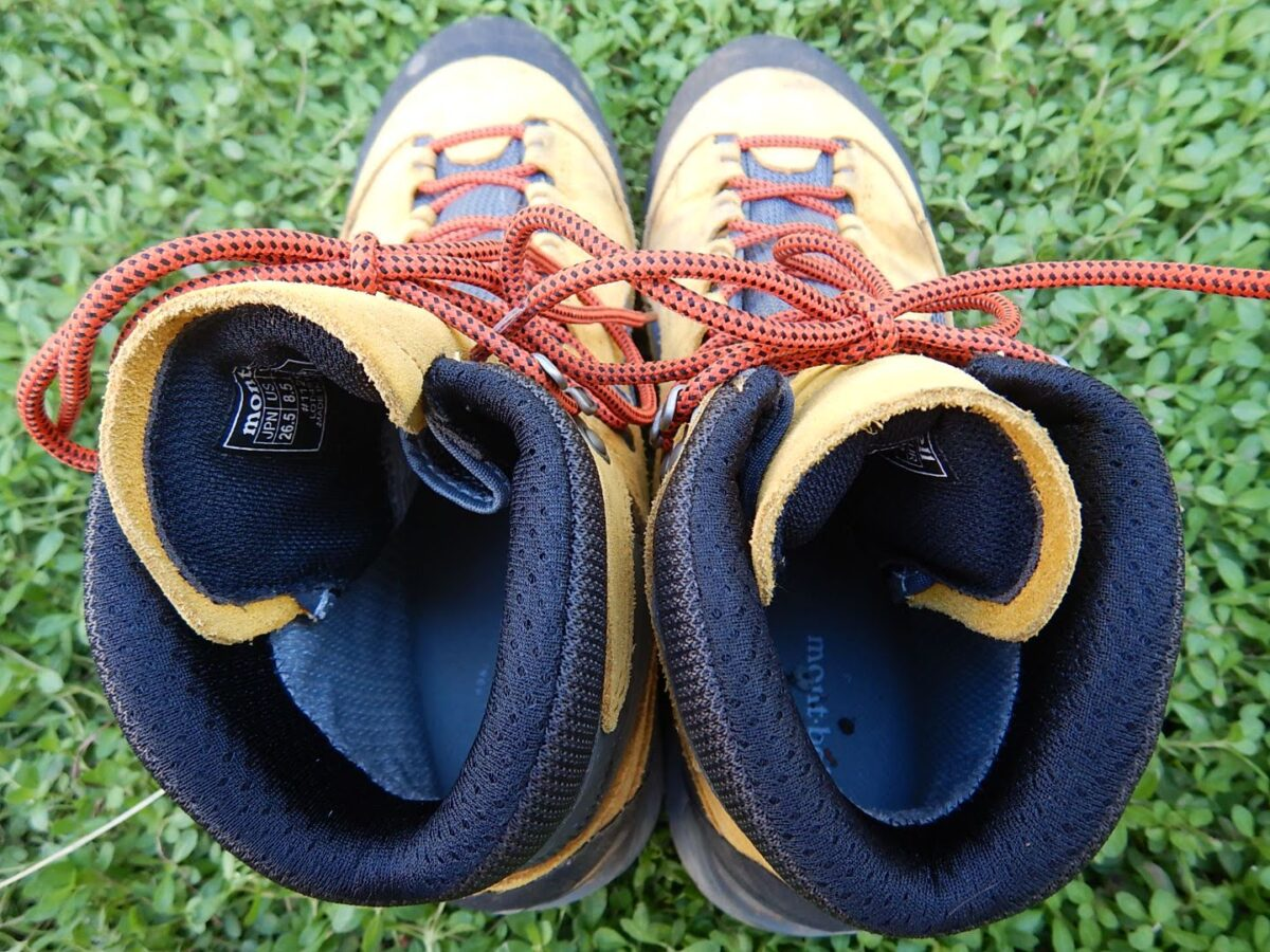 登山靴 おすすめ アンクルパッド