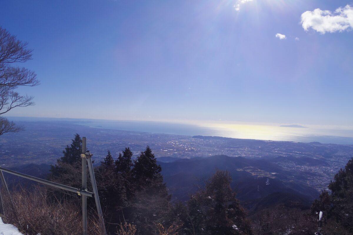大山 登山 おすすめ 山頂からの眺望