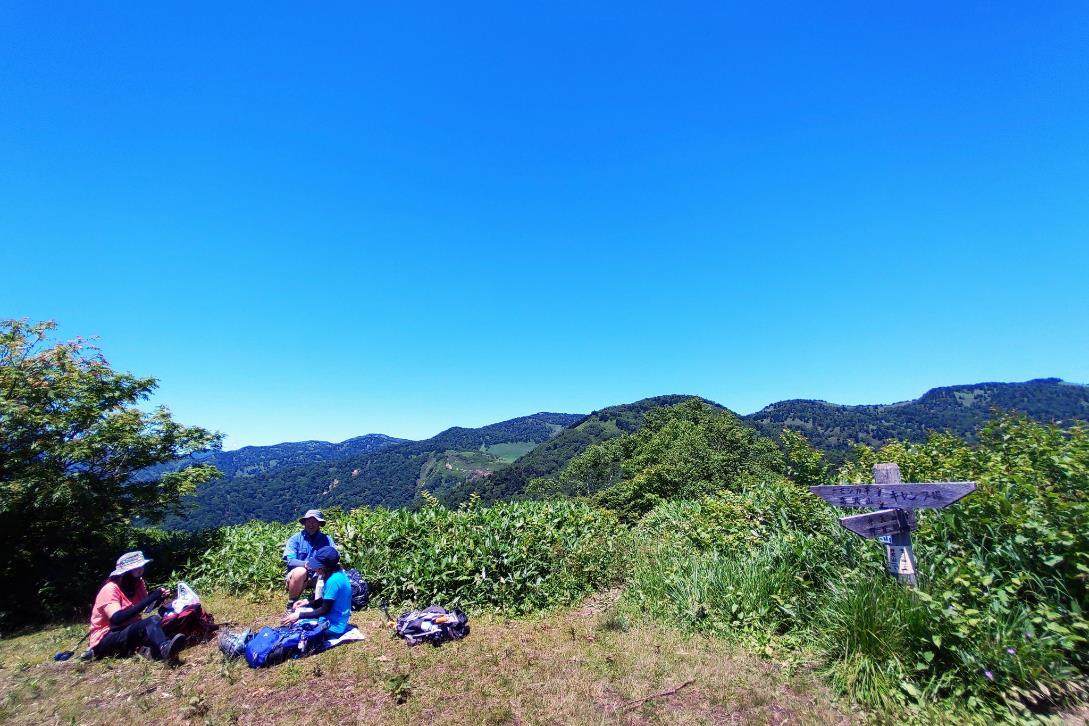 野反湖ハイキング周遊コース