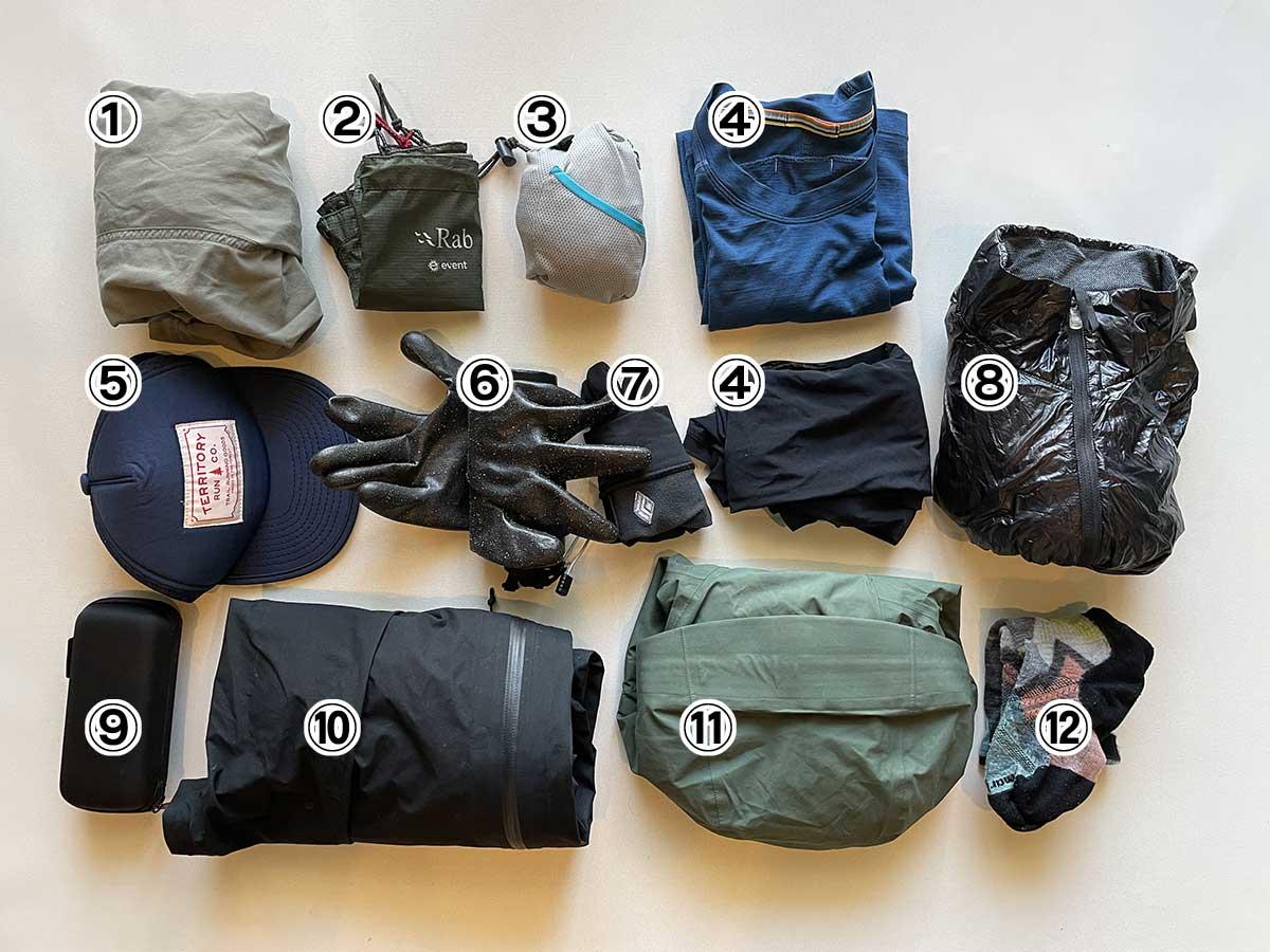 登山の基本的な服装