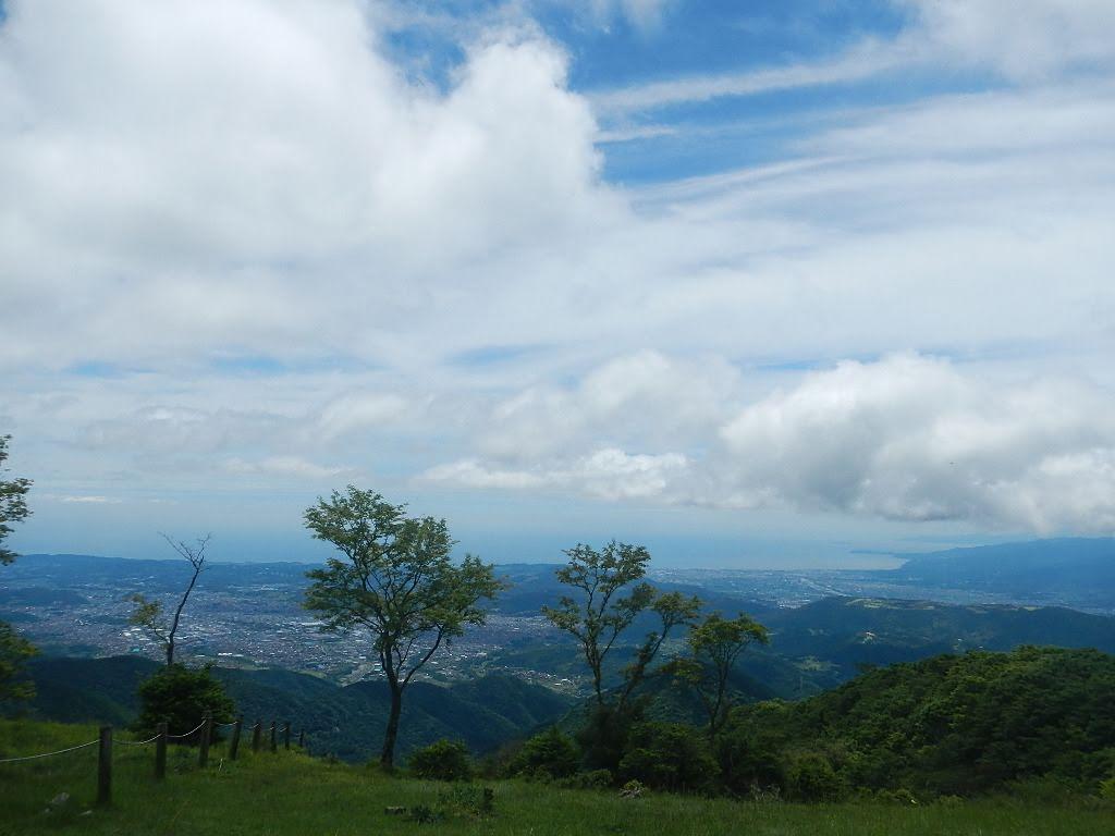 丹沢 鍋割山 山頂 南面