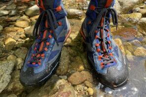 モンベル サワークライマ--モンベル沢靴との比較・サイズ感