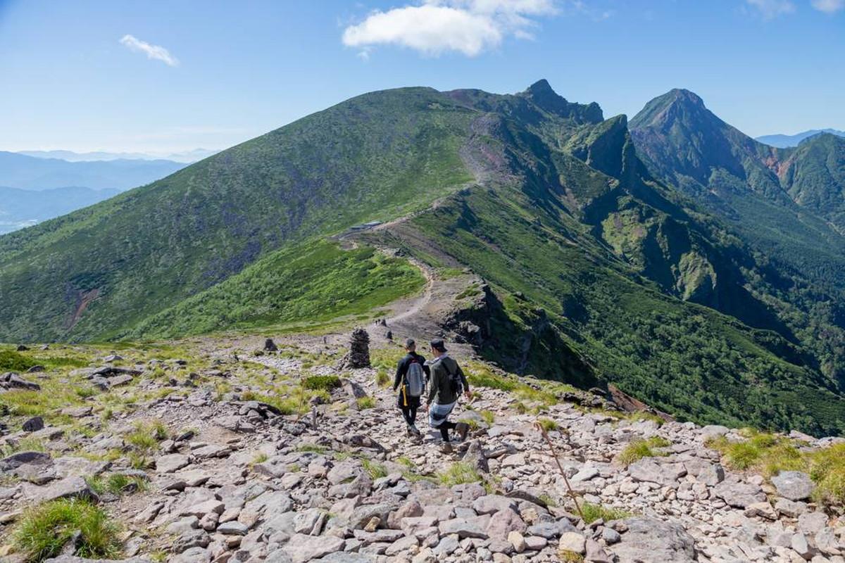 八ヶ岳全山縦走ルート