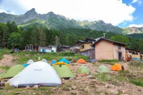 赤岳のテント泊登山-初心者も安心な赤岳鉱泉