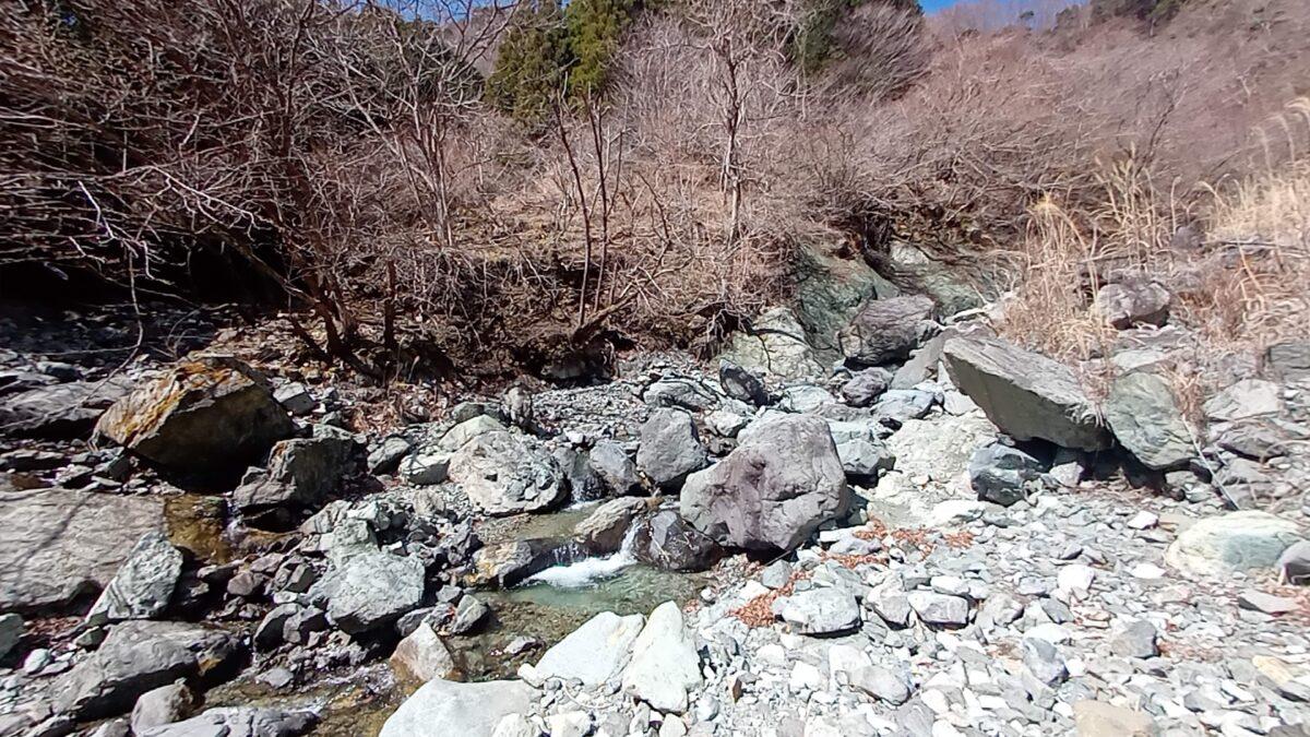 丹沢 鍋割山 沢沿い