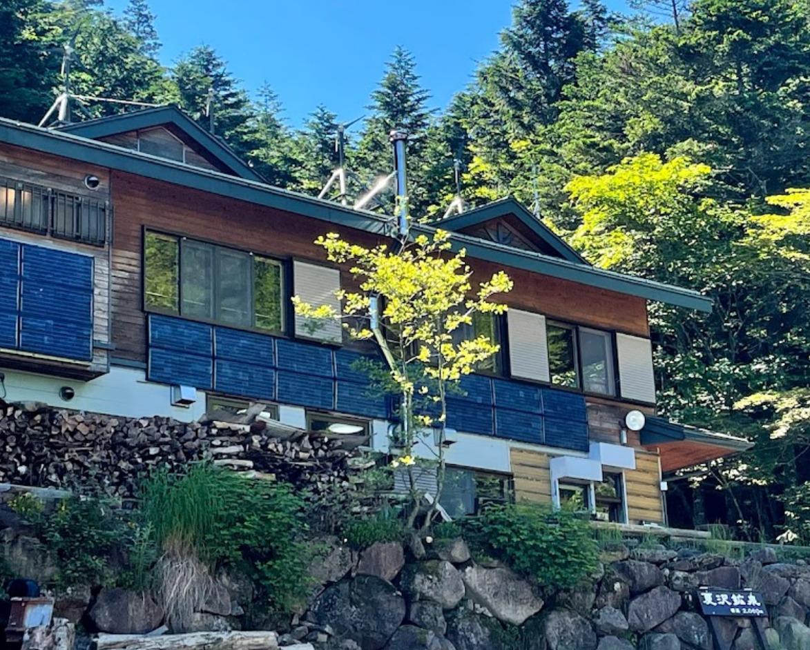 桜平から夏沢峠の登山ルート