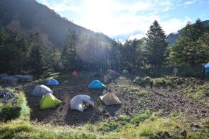 八ヶ岳の全山小屋一覧-テント泊可能な小屋、山小屋グルメ