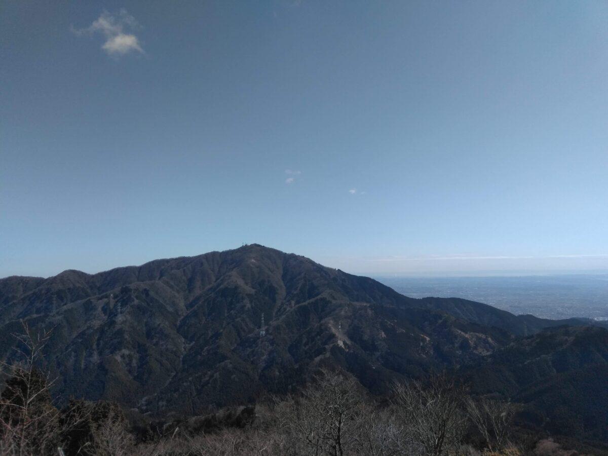 丹沢 三ノ塔 大山