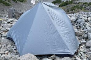【レビュー】アルトTR1-シートゥサミットの超軽量テント