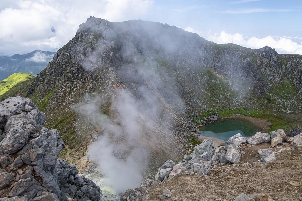 焼岳登山 活火山ならではの景色と歴史