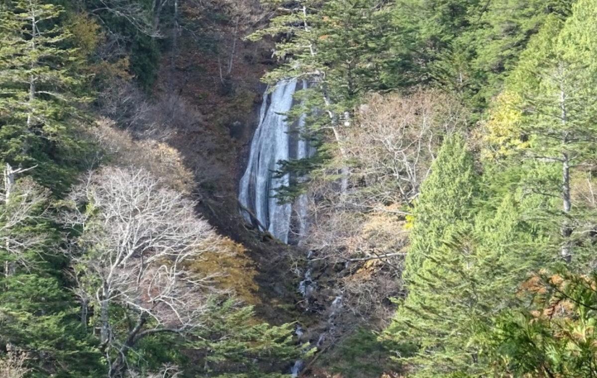オロオソロシの滝の展望台