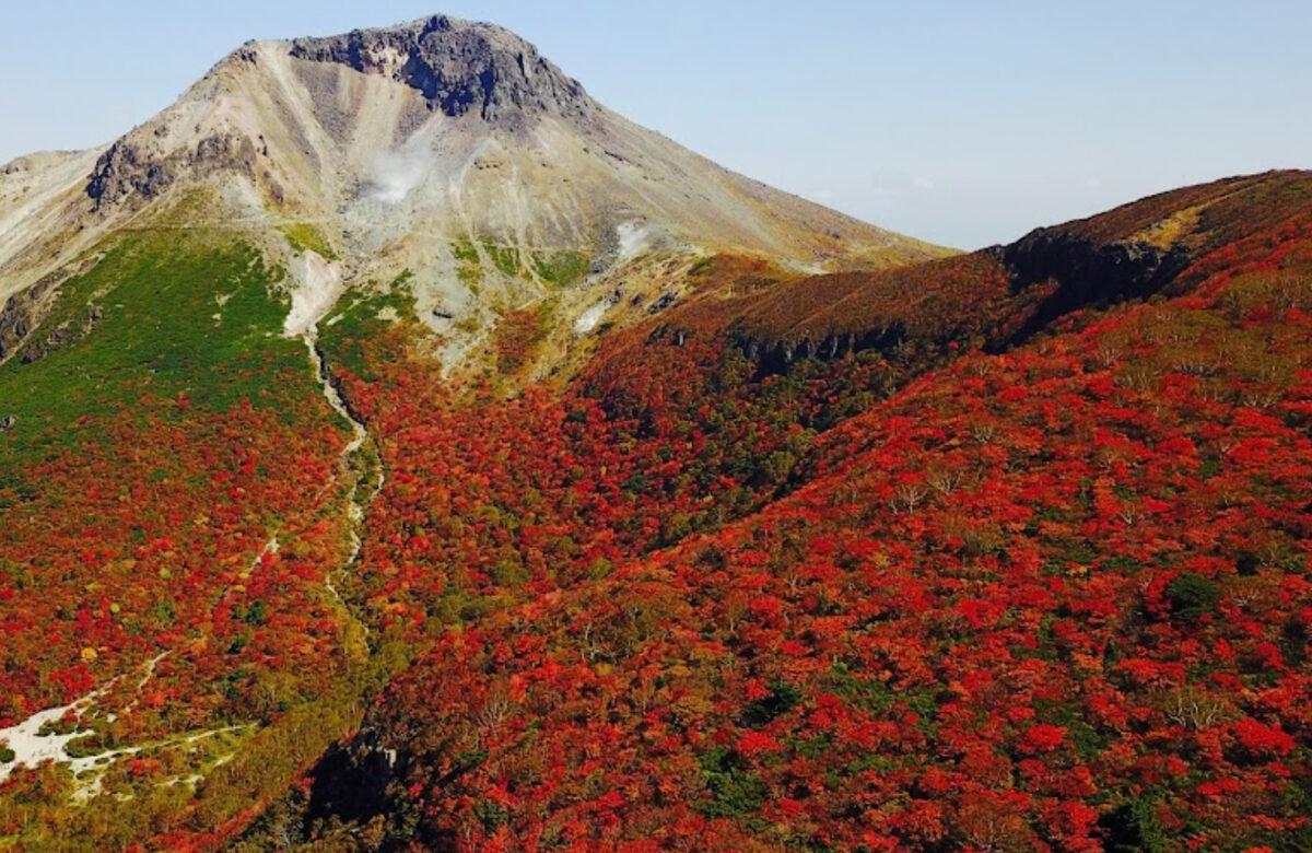 紅葉登山 那須岳