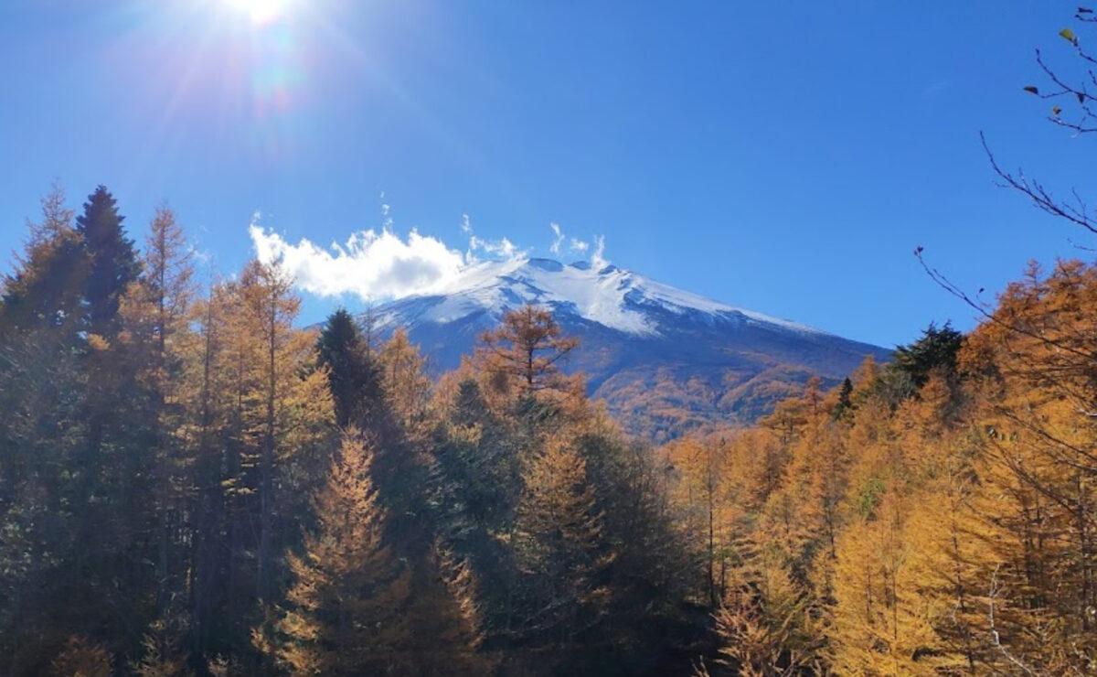 紅葉登山 富士山