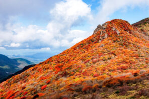 中国・四国・九州エリアの紅葉登山-おすすめの山と登山コース難易度・紅葉時期